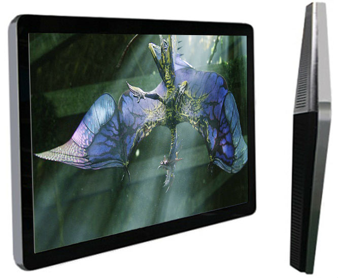 Metal Digital Signage LCD Display Monitor For Automatically Media Player