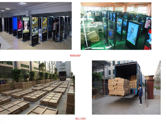 47inch Floor Standing Touch Screen Network Android LCD Digital Signage Display For Hotel