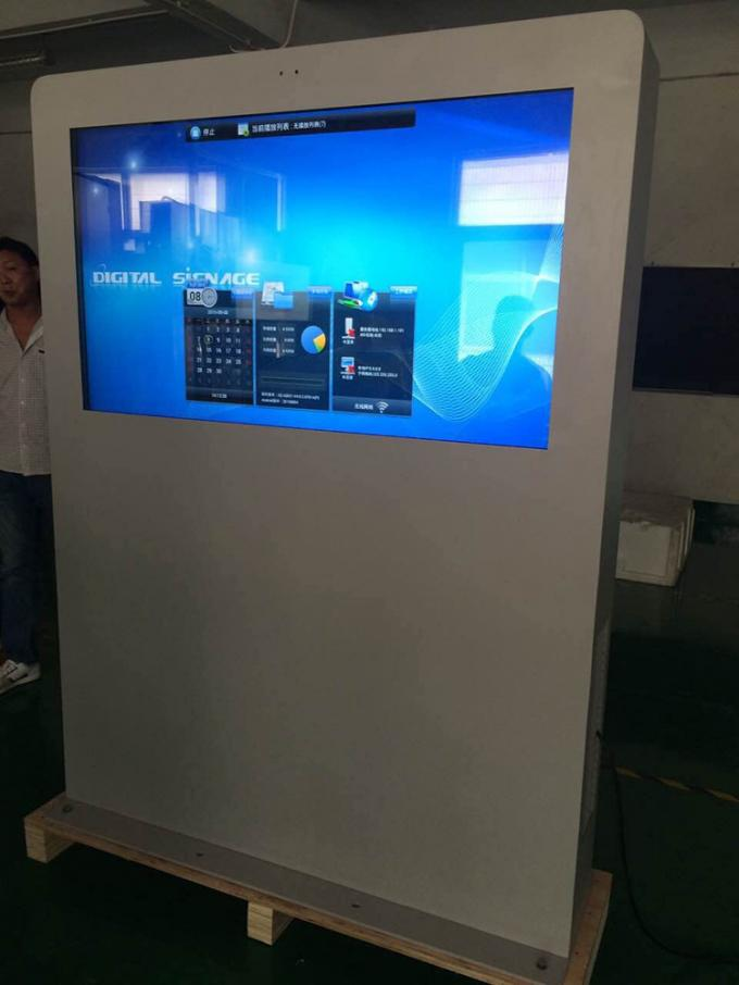 55 Inch IP65 Stand Alone Digital Signage Waterproof Viewing Angle 178°