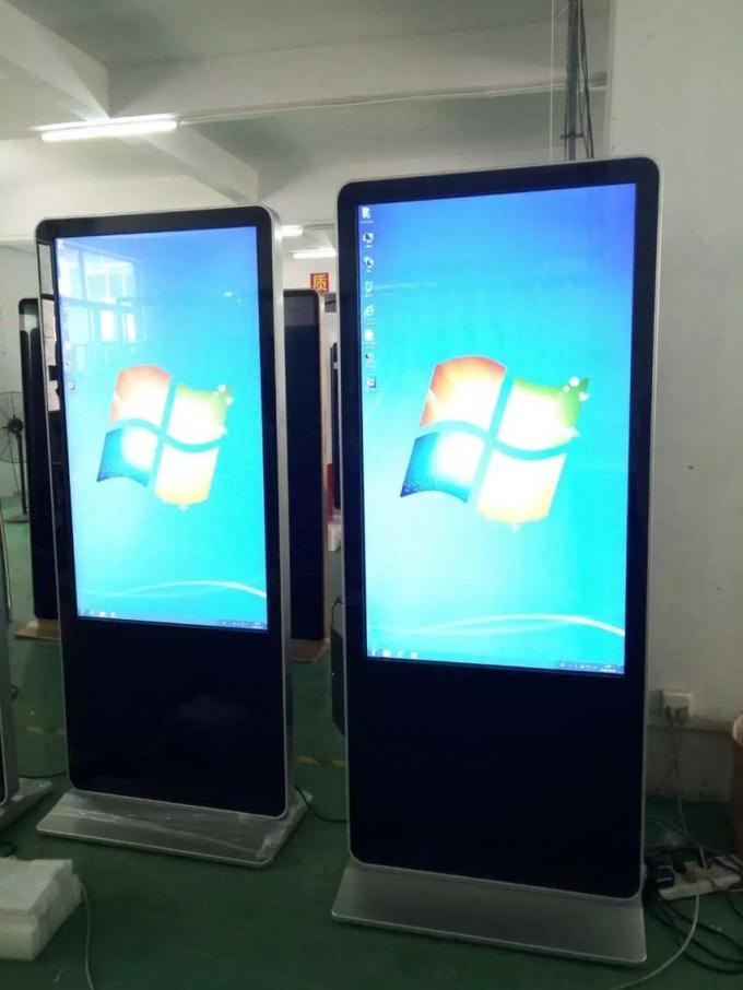 High Resolution 42 Inch 1080P Outside Digital Signage Touch Screen / Totem Lcd Display
