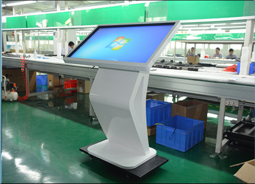 Advertising Free Standing Outdoor Digital Signage Displays For Supermarket