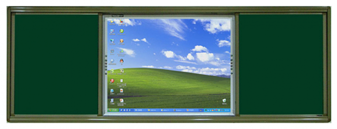 Aluminum Alloy Frame Wall Mount Touch Screen Monitor 55 65 75 86 Inch For Education