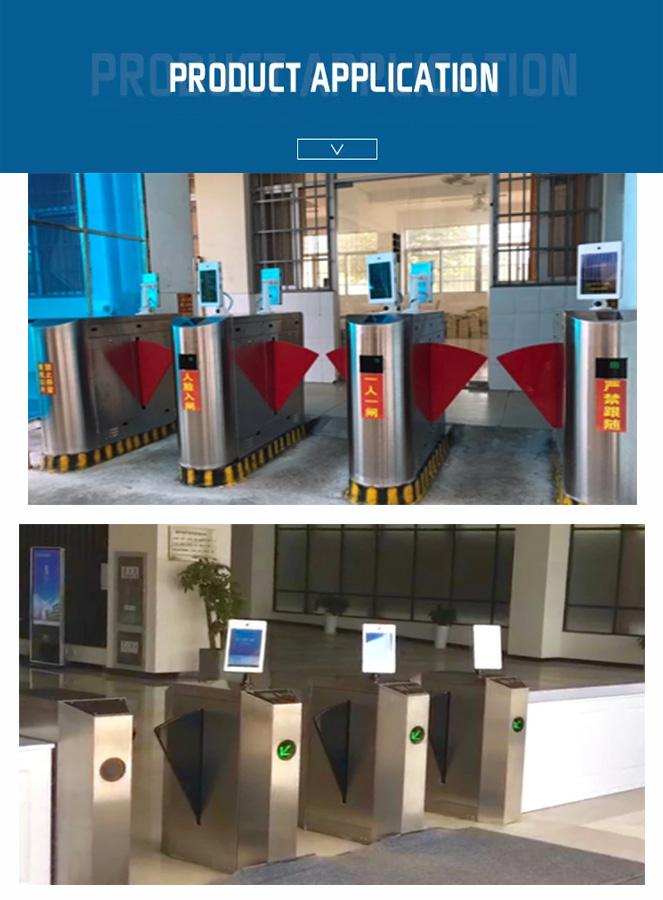 High Accuracy LCD Advertising Player Full Viewing Angle For Face Recognition System