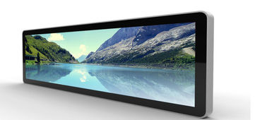China 28 Inch High Resolution Wall Mounted Digital Signage Display For Supermarket supplier
