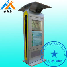 China Windproof 2000 Nits Outdoor Digital Signage , Digital Advertising Screens For Bus Station supplier