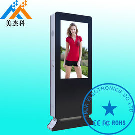 China 55 Inch Grade A LG Samsung Waterproof Digital Signage Solutions With Wheels For Hospital supplier
