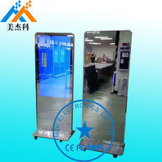 China 42 Inch Touch Screen Mirror Bathroom Table Stand Magic Mirror With Motion Sensor supplier