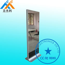 China Hotel Bathroom Touch Screen Smart Mirror Decorative With TV Wifi supplier