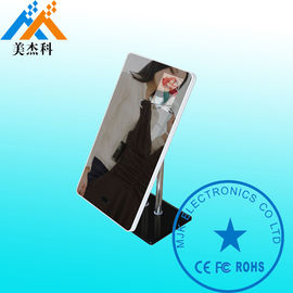 China 32 Inch Touch Kiosk Floor Stand Magic Mirror Display Stand Alone Digital Signage Monitor supplier