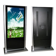 "China Commercial Samsung 55"" Floor Stand Alone Digital Signage Screen dustproof , 1980 x 1020 supplier"