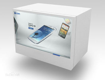 China Indoor 32 Inch Transparent LCD Display With Background Music , XVID GIF PNG supplier
