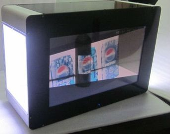 China Brightness Transparent LCD showcase HDMI interface For Advertising supplier