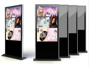"China Airport Android TFT LCD Screen Digital Signage Media Display 65"" 22"" , Stand Alone LCD Display supplier"