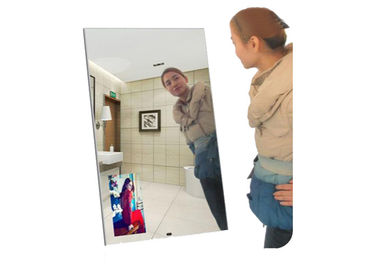 China TFT Magic Mirror Display Clothing Digital Signage 43 Inch Touch Screen 50/60 HZ supplier