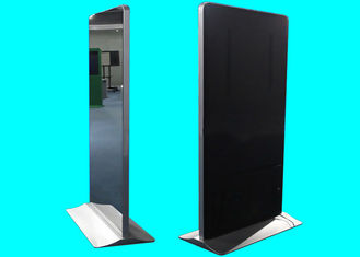 Modern Magic Mirror Display , 55 Inch Floor Standing Digital Signage 1 Year Warranty