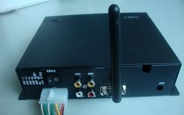 China VGA / AV WIFI Advertising HD Media Player Box With GPS For Bus And Card supplier
