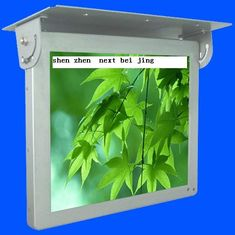 China 19inch HD WIFI / 3G Bus Digital Signage , Antivibration Design Bus LCD Advertising Player supplier