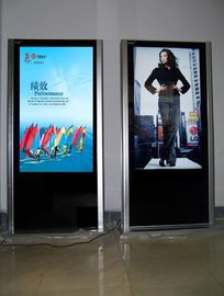 China Classic Floor Standing 65 inch Stand Alone Digital Signage Display Support SD supplier