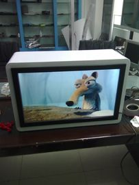 China High luminance Transparent LCD Advertising Display Showcase supplier