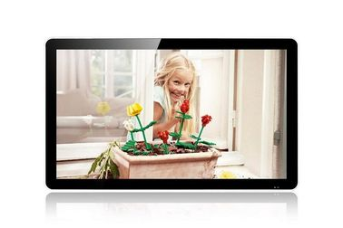 High Brightness HD 46 Inch Wall Mount LCD Display Video Pictures Music , 1920 * 1080