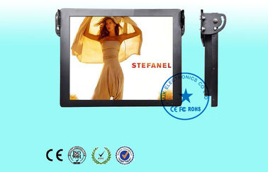 China Roof Mount Bus LCD Digital Signage 22 Inch Ultrathin 1024 x 768 Resolution supplier