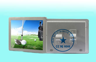 China Silvery Antivibration Bus LCD Digital Signage Display For Advertising supplier