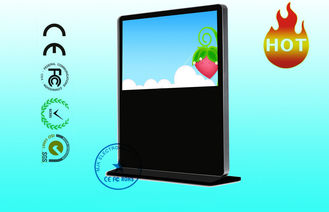 China 1920 × 1080 HD Horizontal Apple LCD Advertising Player 55 Inch Floor Standing supplier
