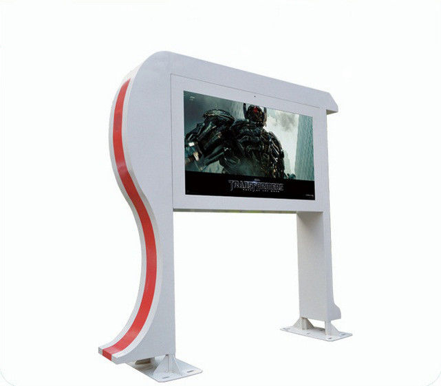 Stand Alone 47 Inch Android Digital Signage Display / Lcd Ad Player Windproof