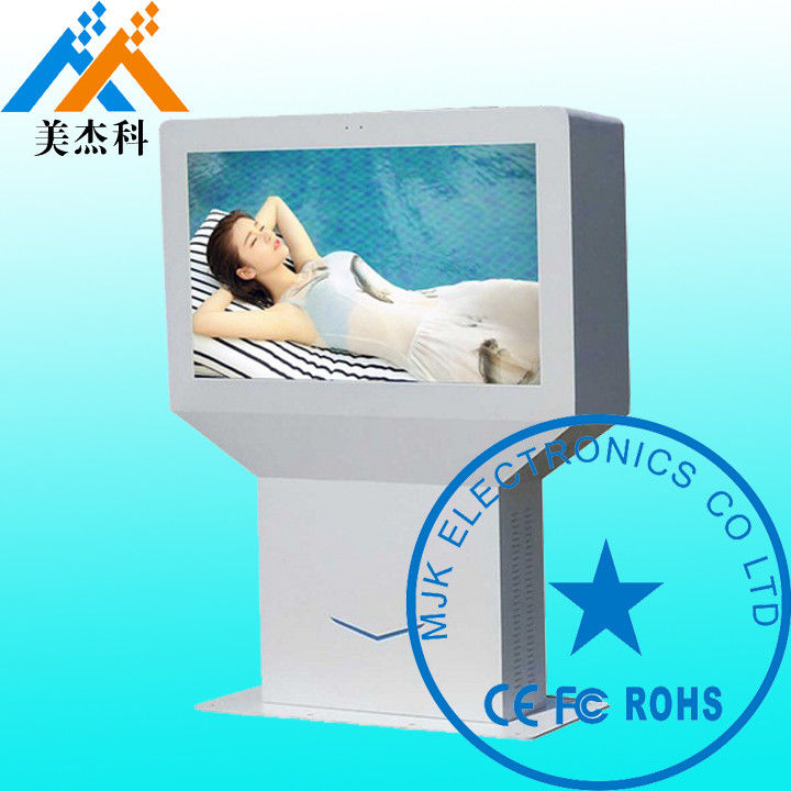 65 Inch Floor Standing LCD Advertising Outdoor Digital Signage Display HD Screen For Airport