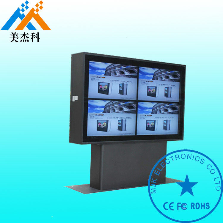 42 Inch High Resolution Digital Advertising Displays 1920*1080P With Wheels For Golf Course