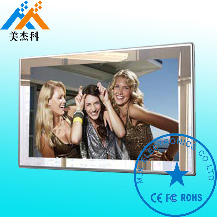 Infrared Motion Sensor Interactive Touch Screen Smart Mirror Kiosk For Toggery