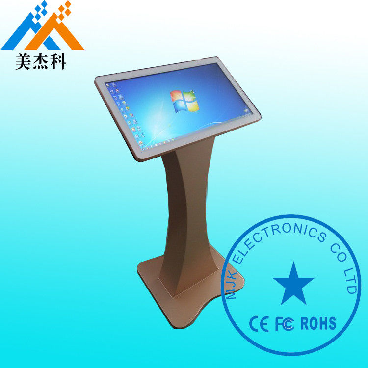 Windows OS Free Standing Kiosk High Resolution 1920 * 1080P For Hotel