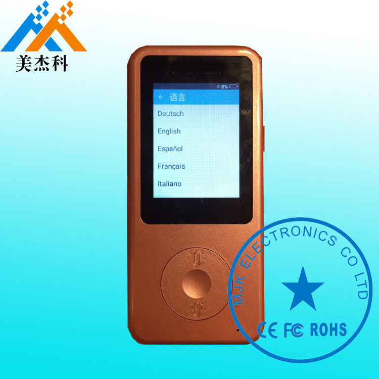 Simultaneous Intelligent Voice Translator Blue Tooth Version 4.0 3D Array Speaker