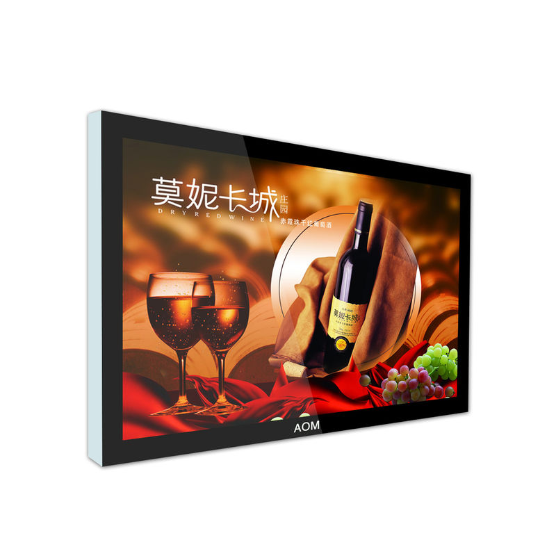 HD 55 Inch LCD Digital Signage Display USB / SD Card Interface