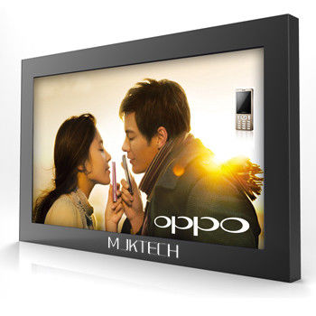 Industrial 3G 22 Inch LCD Screen Stand Alone Digital Signage AVI MP4 TS With LED backlit