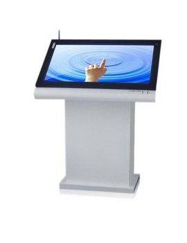 Brightness 47 Inch LCD Multi Touch Screen Kiosk / Automatical LCD Advertising Display