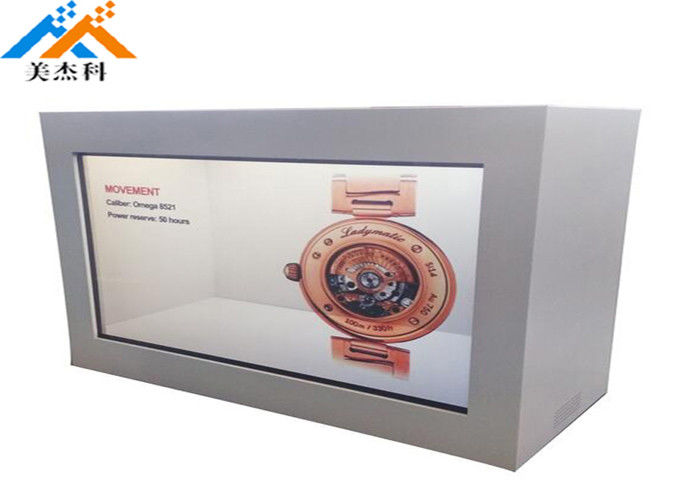 Touch Screen Transparent Lcd Showcase 32 Quot Indoor Advertising Display 60Hz