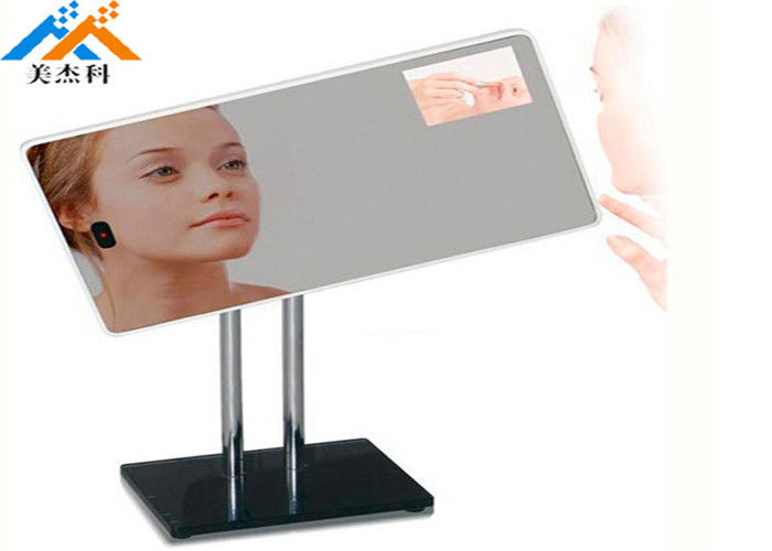 32 Inch Mirror Digital Signage , Floor Standing Kiosk Advertising Totem Photo Booth