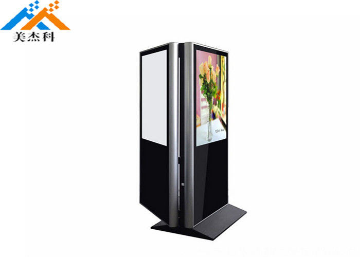 High Resolution LCD Touch Screen Kiosk , Lcd Digital Signage Display 49 Inch