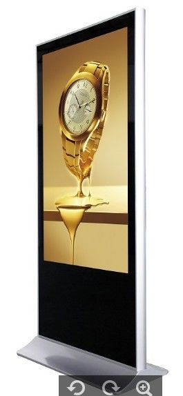 Floor Standing Touch Screen Digital Signage Display / lcd digital display
