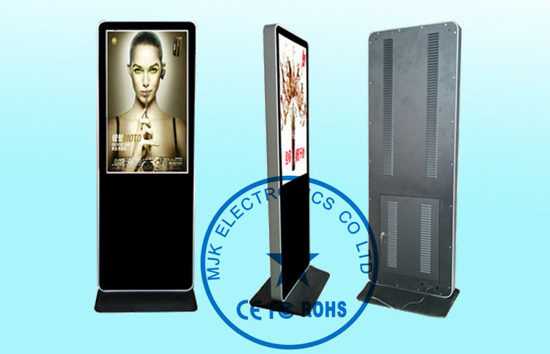 55 Inch Touch Screen Digital Signage Kiosk IR Digital Advertising Display