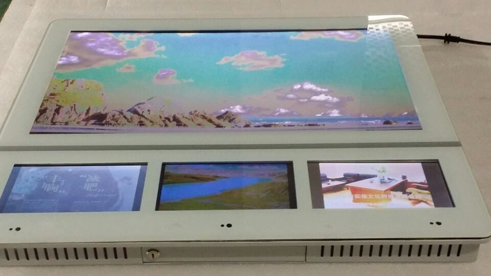 1920 × 1080 Wall Mount LCD Display Networking High brightness