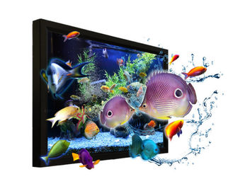 Customized 55 Inch Nake Eye Real 3D lcd Digital Signage Display