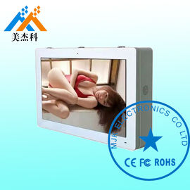 10 Points Infrared Touch Kiosk / Outdoor Lcd Digital Signage Display IP65 Waterproof