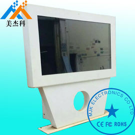10 Points Touch Kiosk Digital Signage Exterior High Resolution 1080P LG Screen