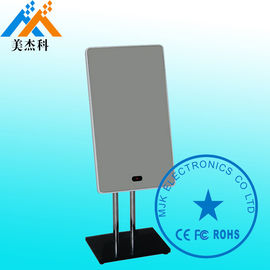 Bathroom Magic Mirror Display With TV / Touch Kiosk Digital Mirror Advertising 32 Inch