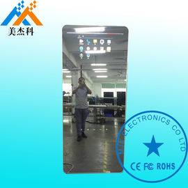 Capacitive Touch Screen Mirror Digital Signage With TV , Magic Mirror Display Advertisement
