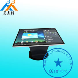 Tea Table Touch Screen Digital Signage FUll HD 43 Inches 500CD OS System