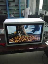 Commercial 22inch Transparent LCD Display Advertisng Screen With Dynamic Video