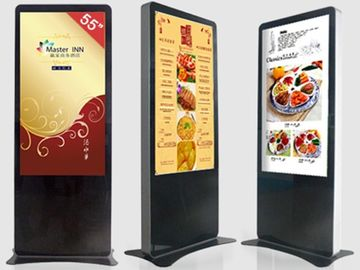 Free Standing Interactive Information Kiosk / Shopping Mall Kiosk Touchscreen